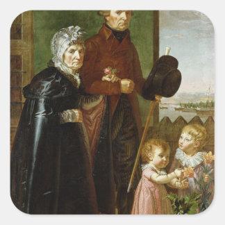 芸術家の親1806年 スクエアシール