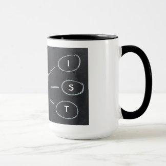 芸術家の電球のマグのデザイン マグカップ