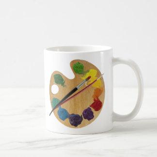 芸術家の` sのパレットのカラーホイール コーヒーマグカップ