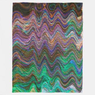 芸術家のCLブラウンによって設計されているGaeaのフリースブランケット フリースブランケット