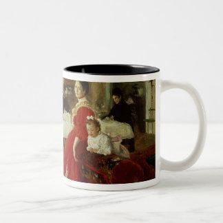 芸術家のDaughter 1905年 ツートーンマグカップ