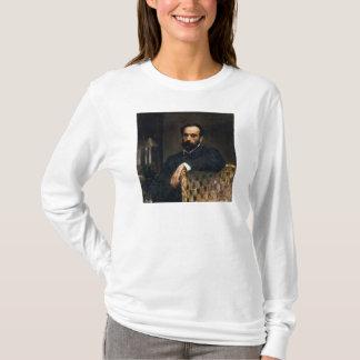 芸術家のIsaak Ilyich Levitanポートレート Tシャツ