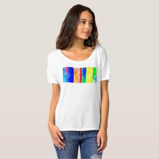 芸術家のTシャツペインターのティーの多彩な夏t Tシャツ