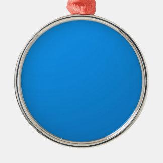 芸術家は青い色の陰を作成しました: txt nのイメージを加えて下さい メタルオーナメント