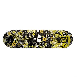 芸術猿のAleloopの都市スケートボード 18.4cm ミニスケートボードデッキ