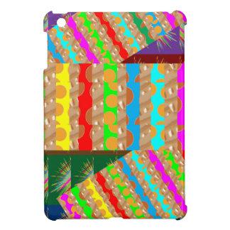芸術的でカラフルなパッチの仕事: 素晴らしいギフトの大事な行事 iPad MINIカバー