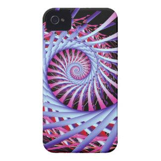 芸術的なオウムガイの螺線形の穹窖のiphone 4ケース Case-Mate iPhone 4 ケース