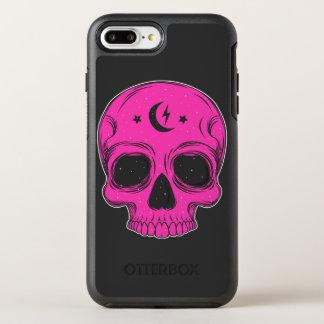 芸術的なスカル オッターボックスシンメトリーiPhone 7 PLUSケース