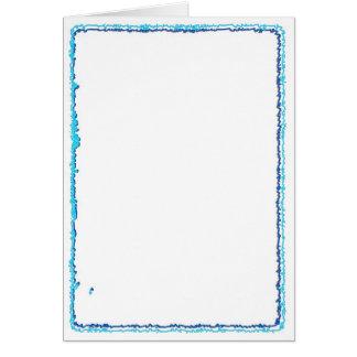 芸術的なテンプレートのボーダーフレーム: yr TXTかIMGを加えて下さい カード