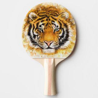 芸術的なトラの顔の卓球ラケット 卓球ラケット