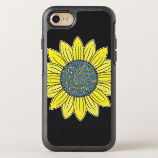 芸術的なヒマワリ オッターボックスシンメトリーiPhone 7 ケース