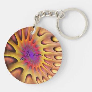 芸術的な日光のKeychainのwitnの名前 キーホルダー