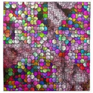芸術的な立方体3 (i) ナプキンクロス
