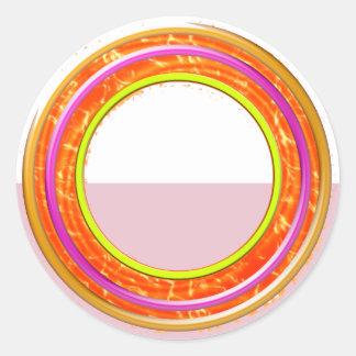 芸術的な色の陰: 組織の執筆用具 ラウンドシール