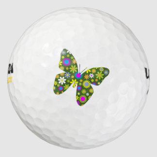 芸術的な蝶 ゴルフボール
