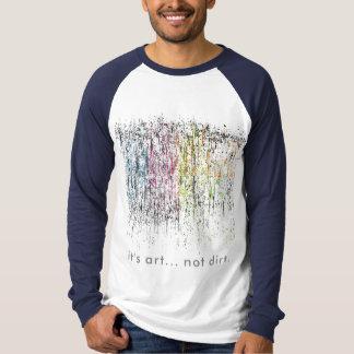 芸術。 ない土 Tシャツ