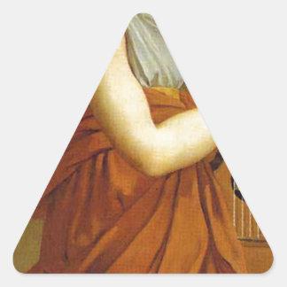 芸術、富、喜びおよび哲学: 三角形シール