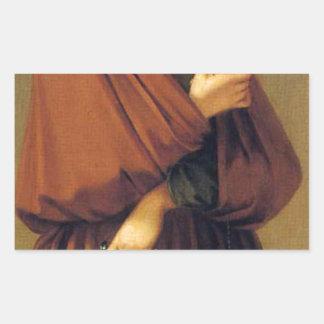 芸術、富、喜びおよび哲学: 哲学 長方形シール