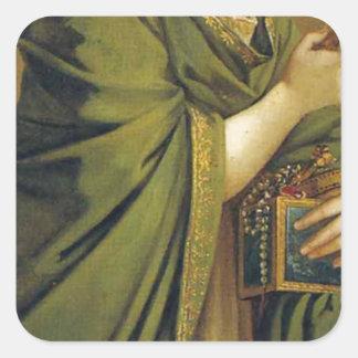 芸術、富、喜びおよび哲学: 富 スクエアシール