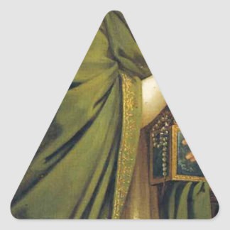 芸術、富、喜びおよび哲学: 富 三角形シール