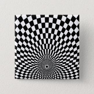 -芸術#2 Emporio Moffaで操作 5.1cm 正方形バッジ