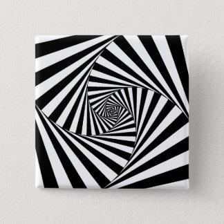 -芸術#4 Emporio Moffaで操作 5.1cm 正方形バッジ