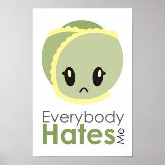 芽-皆は私をポスター憎みます ポスター
