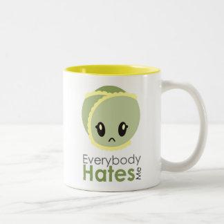 芽-皆は私をマグ憎みます ツートーンマグカップ
