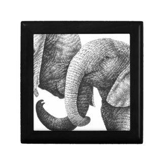 若いアフリカゾウのギフト用の箱 ギフトボックス