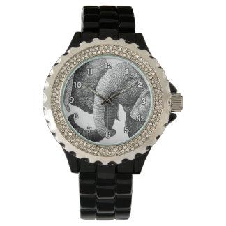 若いアフリカゾウの腕時計 腕時計