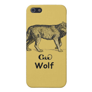 若いチェロキーオオカミ iPhone 5 CASE