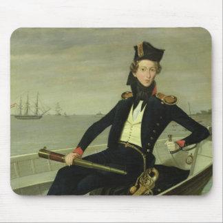 若いデンマークの税関吏のポートレート、1841年 マウスパッド