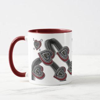 若いハート マグカップ
