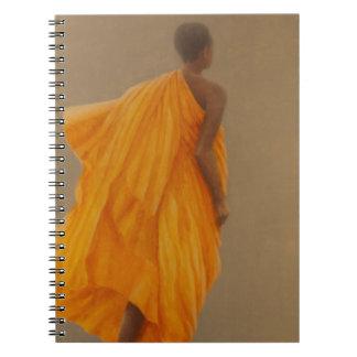 若い修道士スリランカ2010年 ノートブック