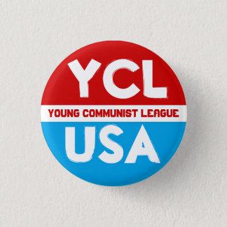 若い共産主義リーグ(YCLUSA) Pin 3.2cm 丸型バッジ