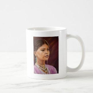 若い女の子、Jaisalmer コーヒーマグカップ