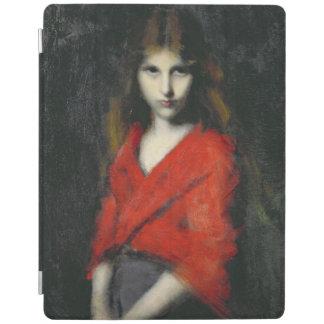 若い女の子、Shivererのポートレート iPadスマートカバー