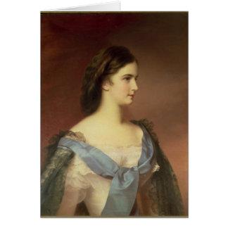 若い女性としてババリアの皇后エリザベス カード