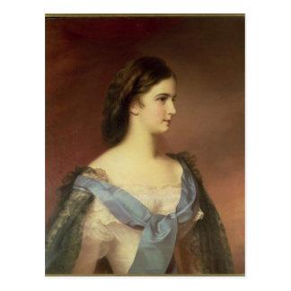 若い女性としてババリアの皇后エリザベス ポストカード