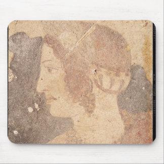 若い女性の頭部、Velia マウスパッド
