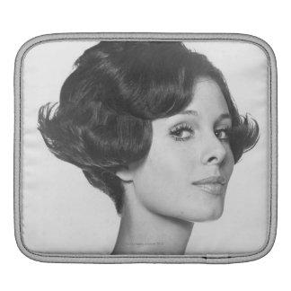 若い女性 iPadスリーブ