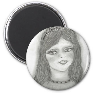 若い妖精 マグネット
