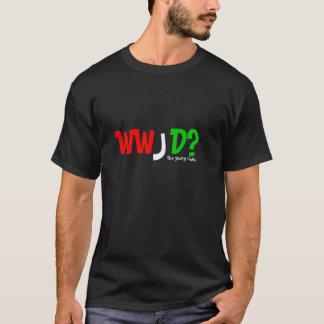 若い尼僧、WWJDか。 Tシャツ