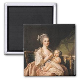 若い母、c.1770-80 マグネット