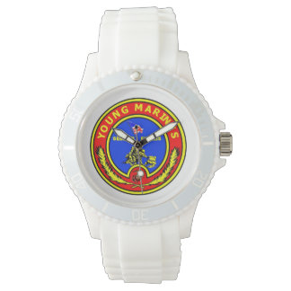 若い海洋の腕時計 腕時計