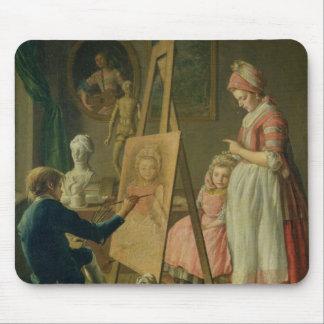 若い芸術家、c.1760 マウスパッド