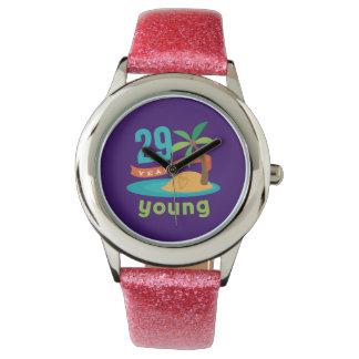 若い誕生日プレゼント29年の 腕時計