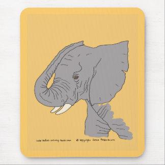 若い象 マウスパッド