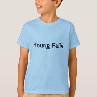 若い農夫のオーストラリアの俗語の男の子 Tシャツ