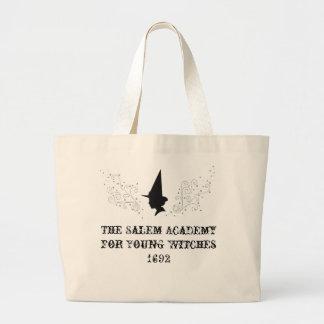 若い魔法使いのためのサレムアカデミー ラージトートバッグ